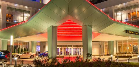 Potawatomi Hotel & Casino front entrance