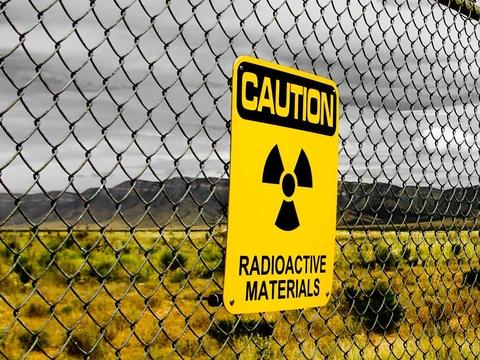 Blue radiation waves
