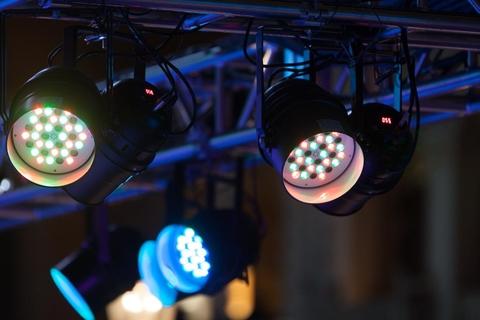 Photo of three spotlights/light fixtures
