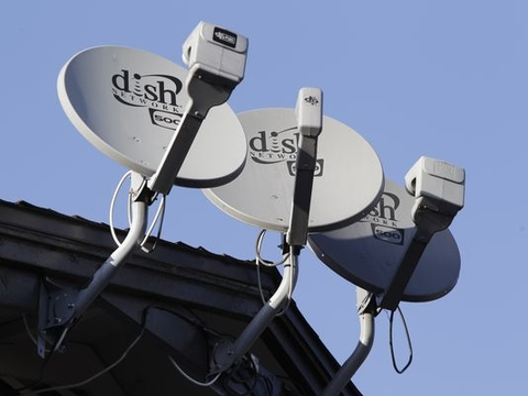 Dish Networks satellites
