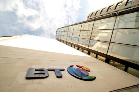 BT office in UK