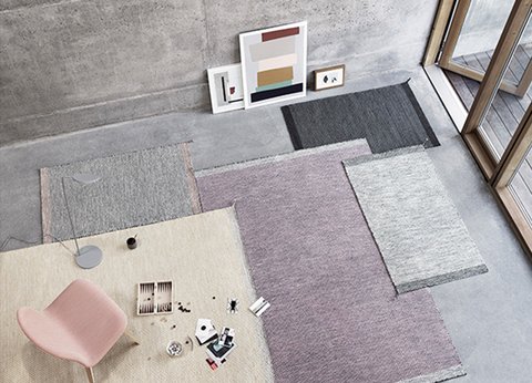 Animated Pattern Margrethe Odgaard S Ply Rug By Muuto