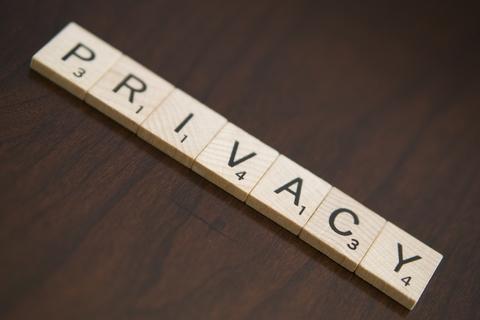 Privacy written in tiles