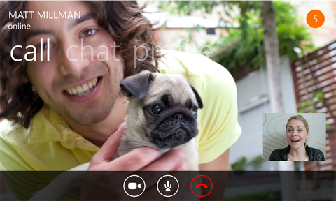 Skype for Windows Phone OS
