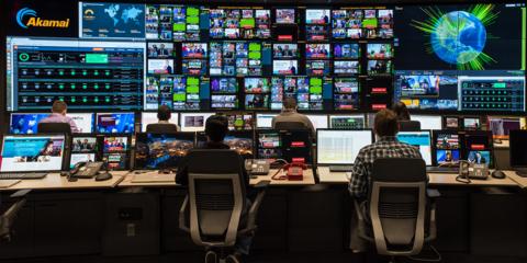 Akamai's Broadcast Operations Control Center