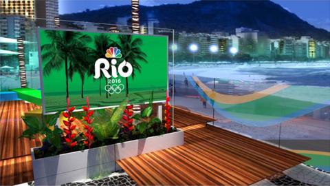 NBC Sports studio Rio Olympics 2016