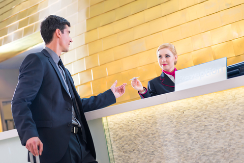 front office interaction with other departments in the hotel