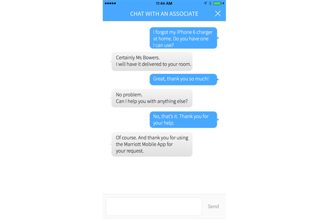 Free local text chat