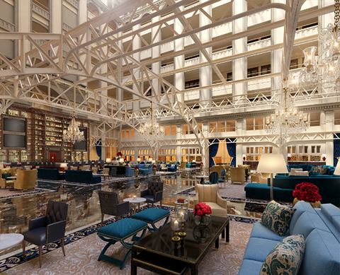 HBA Brings DC's Old Post Office Back As Trump Hotel Hotel Management Awesome Hotels With 2 Bedroom Suites In Washington Dc Style Remodelling
