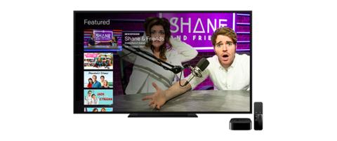 Fullscreen's Apple TV interface