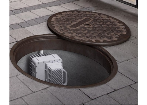 Ericsson small cell manhole cover