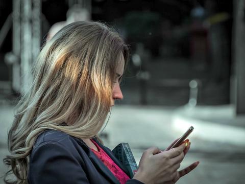 mobile user