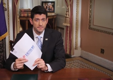 Paul Ryan holding up ACA alternative plan