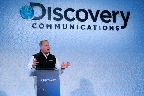 Discovery Communications CEO David Zaslav speaks at Investor Day 2015