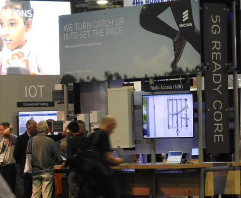 Ericsson 5G booth