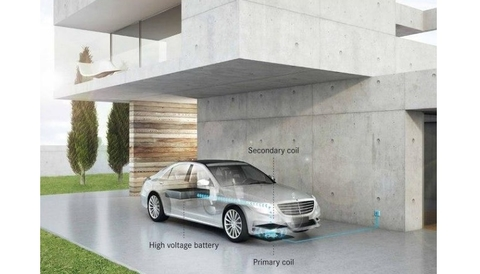 Qualcomm charging car