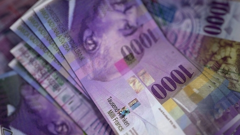 CHF 1000 notes