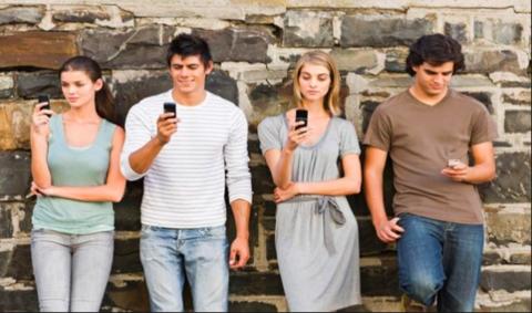 Cell phones and millennials