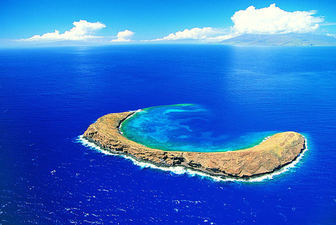 Molokini Crater on Maui