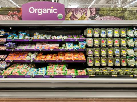 Walmart organics