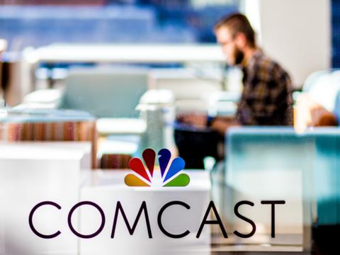 Comcast Center's office in Philadelphia. Image: Comcast
