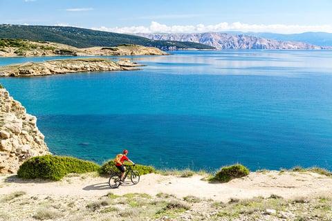 Bicycling through Croatia