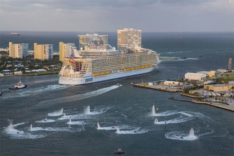 Harmony of the Seas U.S. Debut