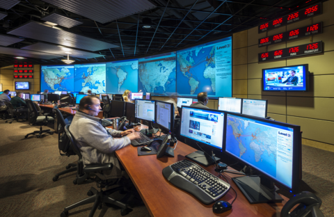 A Level 3 Communications network monitoring center (Image: Level 3)