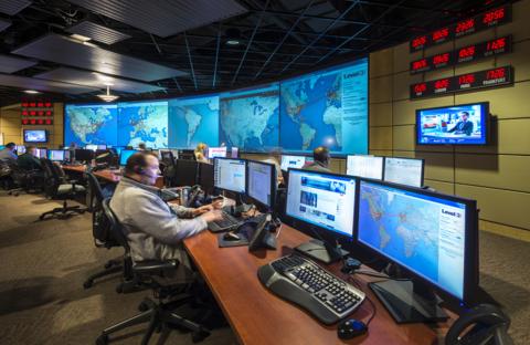 A Level 3 Communications network monitoring center (Image: Level 3)