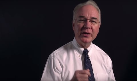 Tom Price speaking