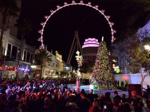 top holiday events in las vegas this winter
