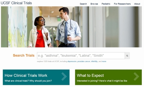 Not enough clinical study participants? UCSF's new recruitment tool