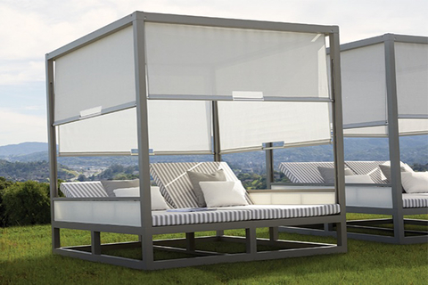 Streamlined Sun Shelter: Duo Cabana By Janus Et Cie