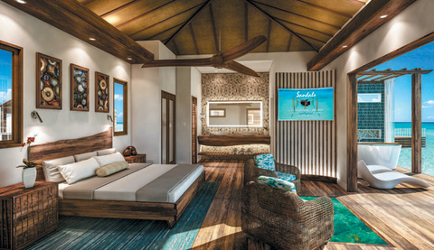 Sandals Royal Caribbean Montego Bay has brought the Pacific islands-inspired overwater suite concept to Jamaica.