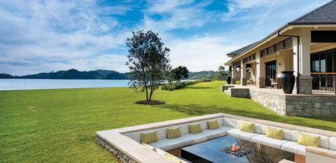 Helena Bay has five private villa suites.