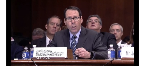 AT&T Randall Stephenson at Senate hearing