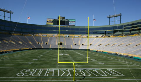 Green Bay's Lambeau Field (Photo: Flickr / Jeramey Jannene)