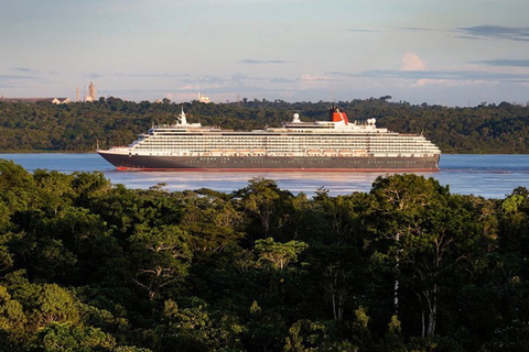 Queen Victoria Sailing the Amazon