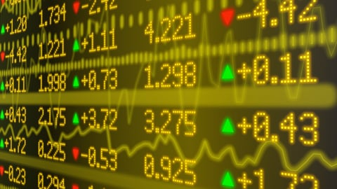 Stock prices up close