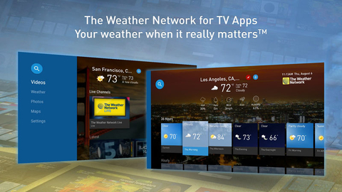 Weather Network adds livestreaming to its Amazon, Apple