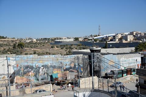 Walled Off Hotel Bethlehem Palestine Banksy