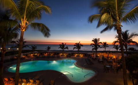 The Cool Pool Of Week Lido Beach Resort In Key Florida