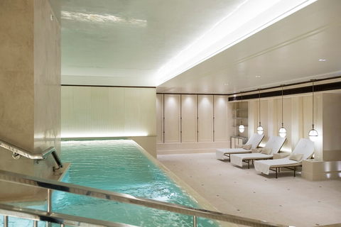 Lanesborough Club & Spa hydro pool - editorial only