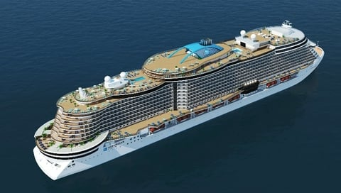 Project Leonardo Rendering. Copyright Norwegian Cruise Line