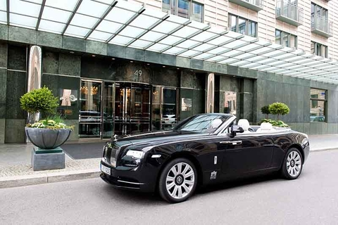 Regent Berlin Offers Rolls Royce Dawn Driving Experience Luxury