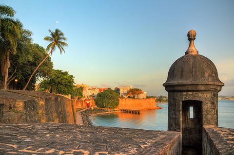 View of San Juan in Puerto Rico