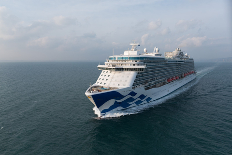 Majestic Princess at Sea Editorial