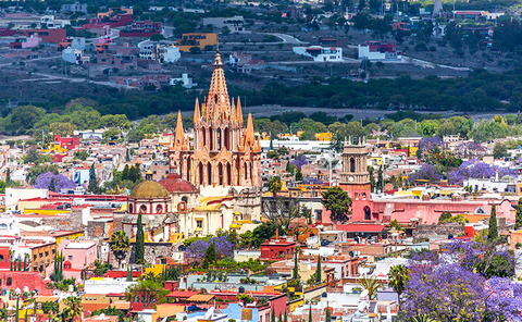 San Miguel de Allende - Alexcrab/iStock/Getty Images Plus/Getty Images
