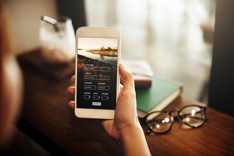 Smartphone travel app