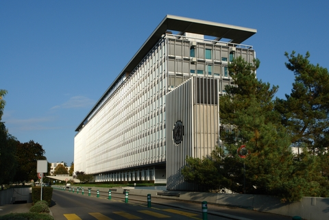 World Health Organization headquarters .